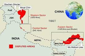 Line of Actual Control CHINA INDIA