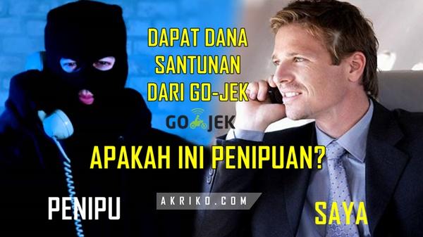 Hati Hati Penipuan Mengatasnamakan Go Jek Indonesia Akriko Com