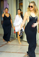 Kim, Kourtney, Khloe, Kendall and Kris: Gimme a break in St. Barts!
