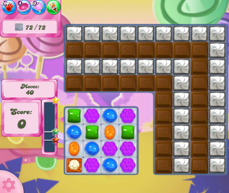 Candy Crush Saga level 2613