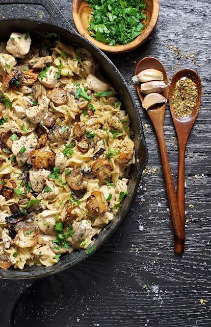 One pan chicken stroganoff easy recipe