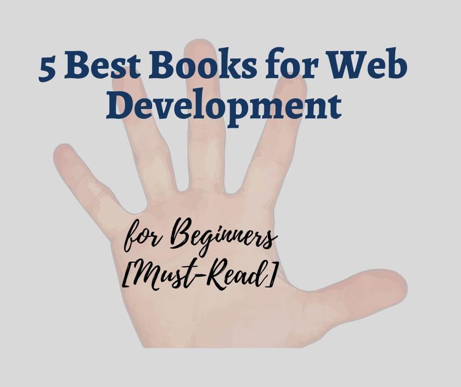 5 Best Books for Web Development for Beginners