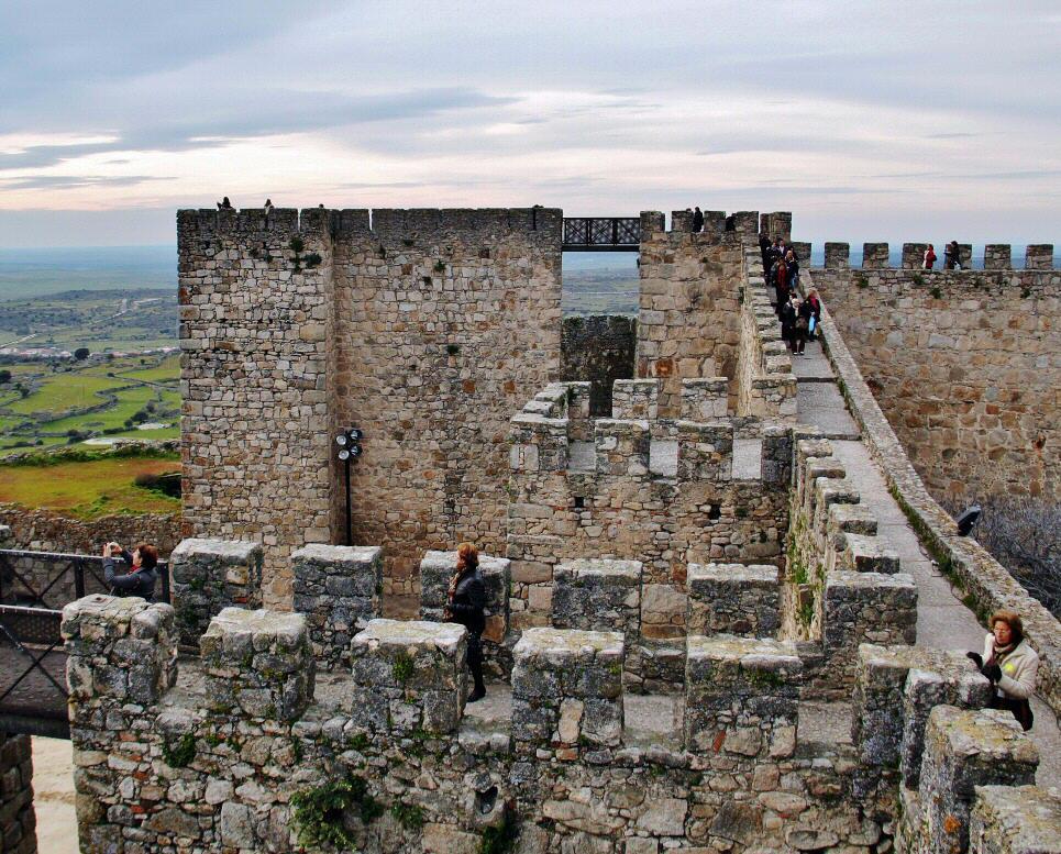 Trujillo Castle Spain