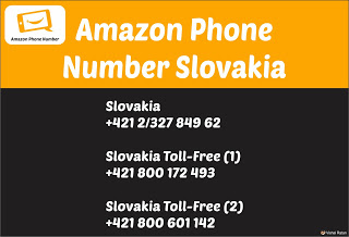 Amazon Phone Number Slovakia