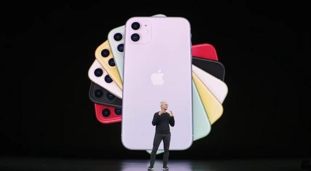 iPhone 11 viene junto con el iPhone 11 Pro y Pro Max