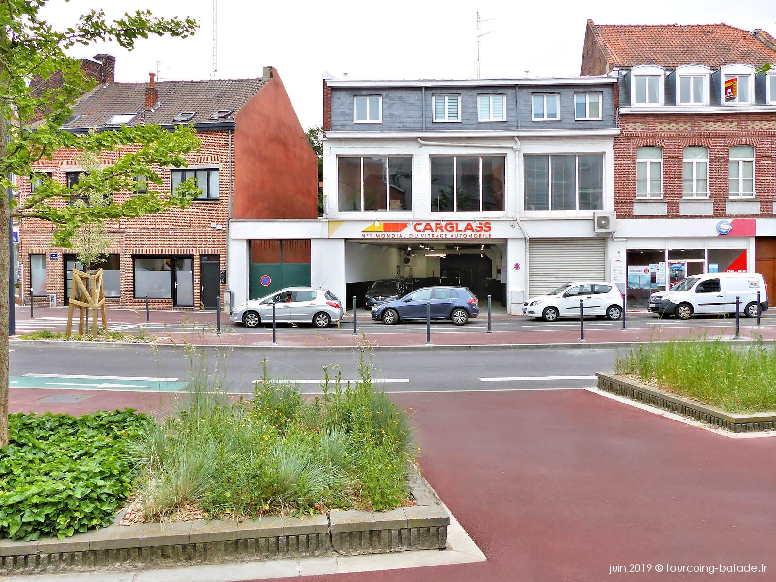 Carglass, Rue de Wailly, Tourcoing Centre.