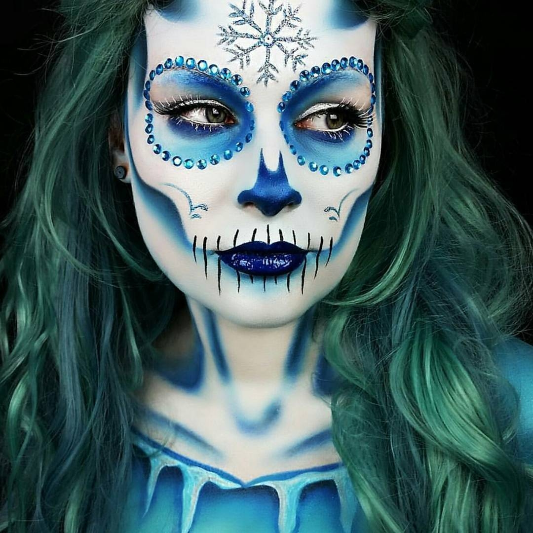 05-Ice-Frozen-Sugar-Skull-Lola-von-Esche-Body-Painting-Transformations-with-Makeup-Applications-www-designstack-co