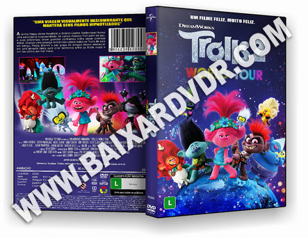 Trolls 2 World Tour (2021) DVD-R AUTORADO