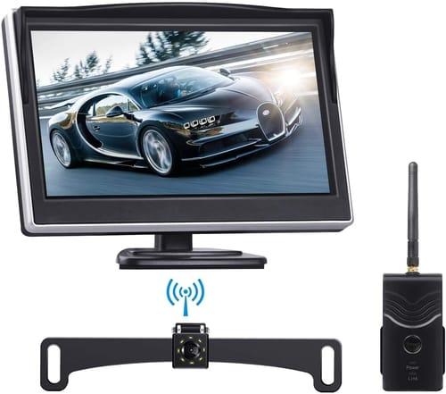 TOGUARD Wireless Backup Camera and Monitor Kit