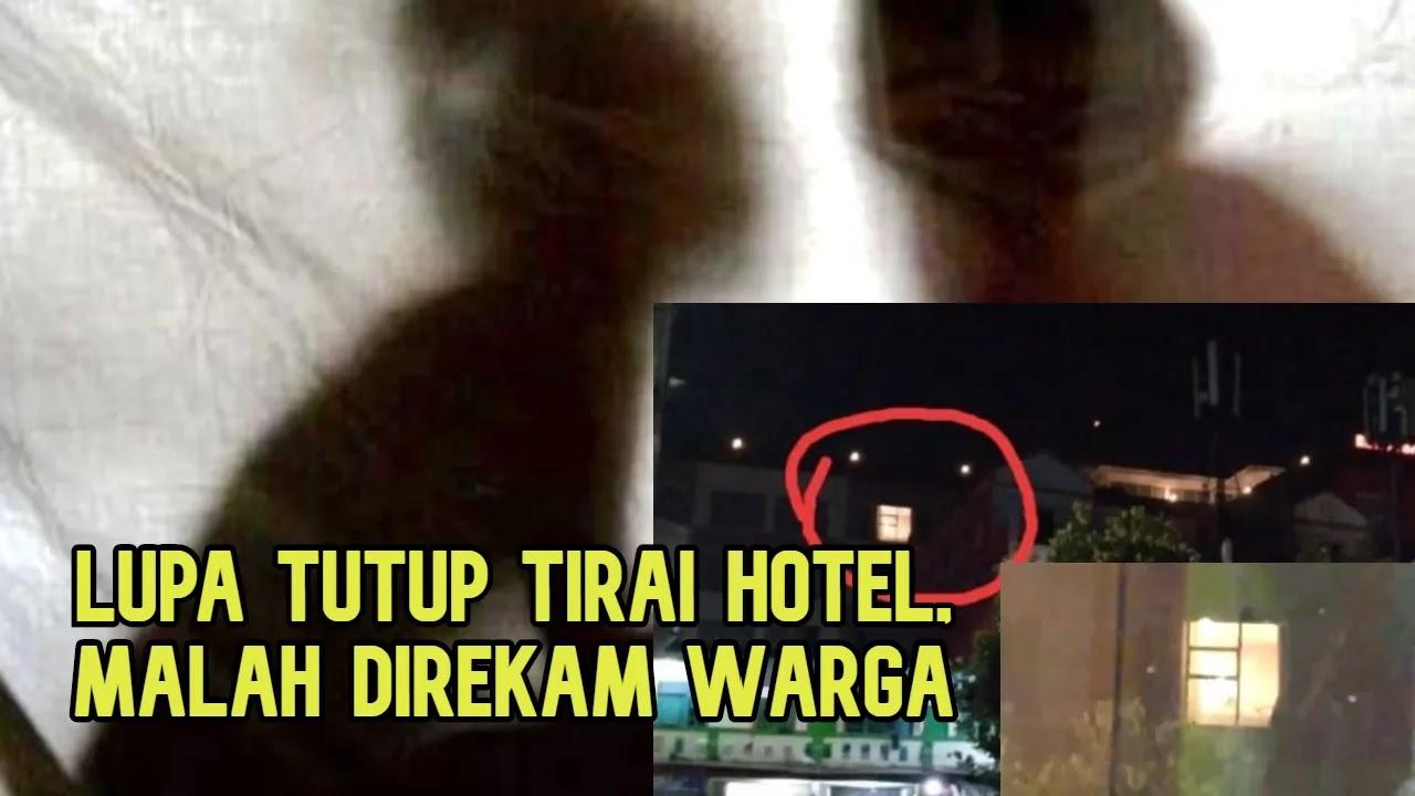 Lupa Tutup Gorden Hotel Pemuda Belum Menikah Saat Wik Wik Direkam Warga Tagar Berita