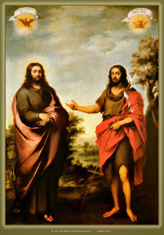 john the baptist and jesus meet