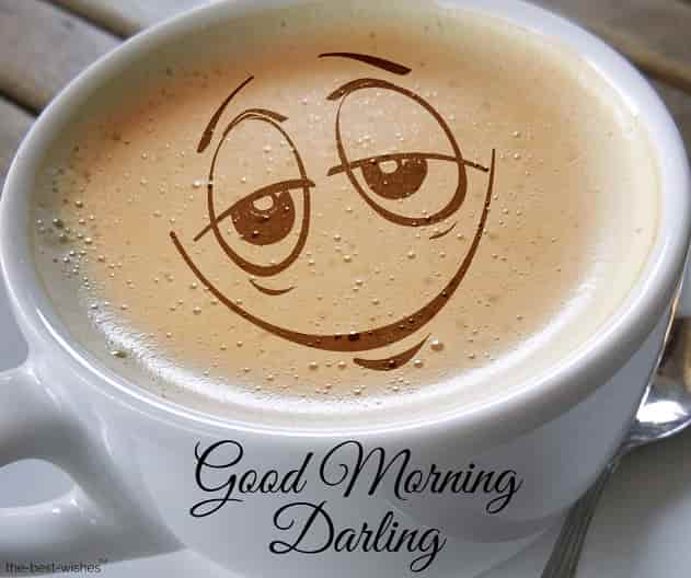 good morning darling coffee