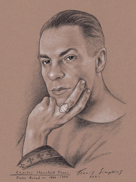 Frater Achad. Charles Stansfeld Jones. Occultist. Ceremonial Magick. Ordo Templi Orientis. by Travis Simpkins