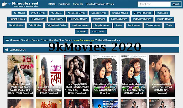 9kmovies 2020 - Download Hollywood Bollywood Movies in Hindi