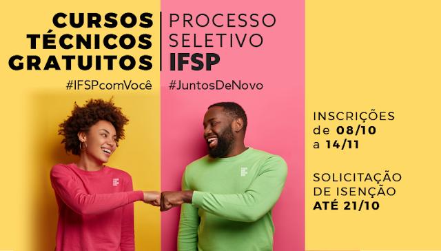 IFSP oferece 200 vagas para cursos técnicos gratuitos no Câmpus Avaré