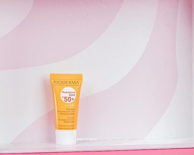 Bioderma Photoderm Max SPF50+ Солнцезащитный крем для сухой и нормальной кожи: отзывы с фото