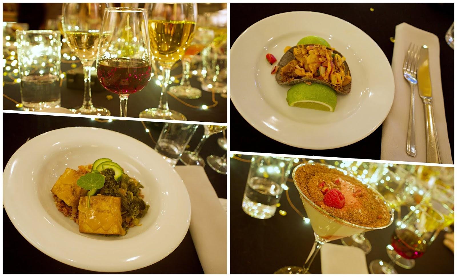 LA inspired dinner