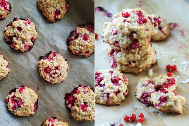 Weiche Johannisbeeren-Cookies