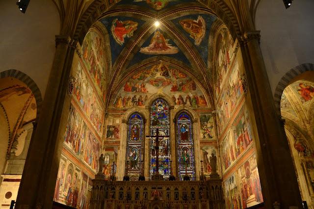 Chapelle principale de Santa Maria Novella