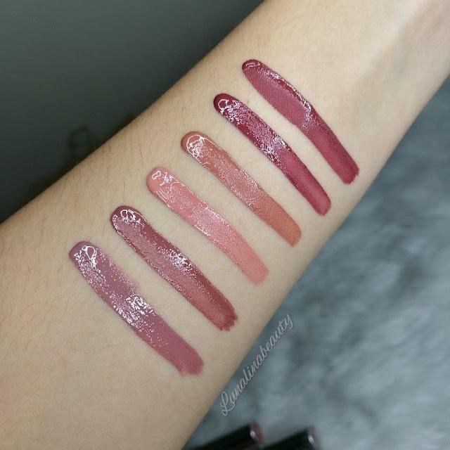 Careline Matte Liquid Lipstick Swatches
