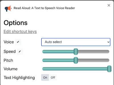 A Handy Chrome Extension to Read Aloud Web Pages