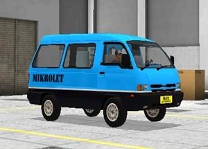 Livery Angkot Bussid Mikrolet Jakarta Biru