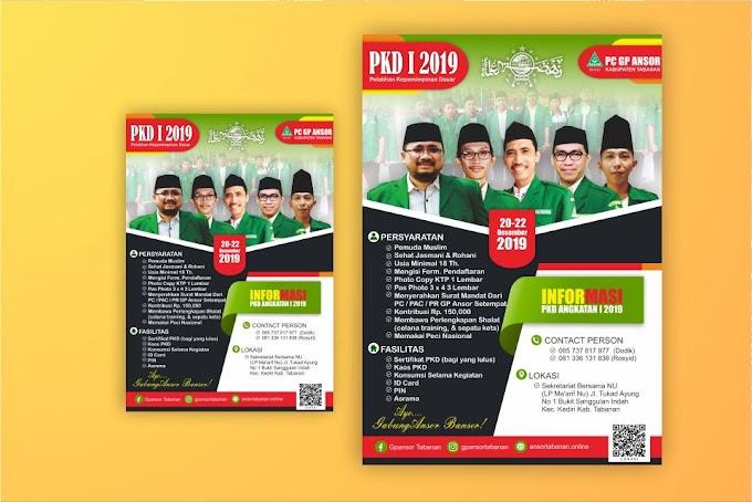 Download Desain Pamflet PKD Ansor