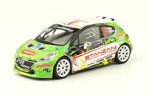 collezione rally monte carlo Peugeot 208 T16 R5 2016 Manuel Villa - Michele Ferrara