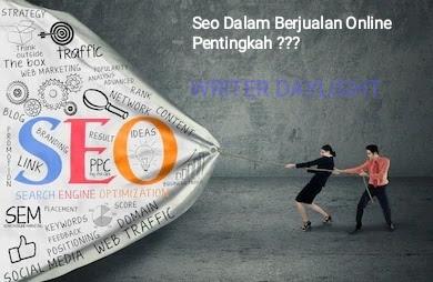 Seo Dalam Jualan Online