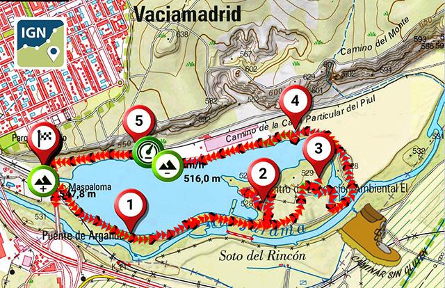 RUTA LAGUNA EL CAMPILLO RIVAS VACIAMADRID