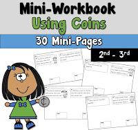 Mini Workbook using Money Word Problems