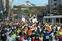 第1回熊本城マラソン開催!優勝、地下翔太!坂口一美!