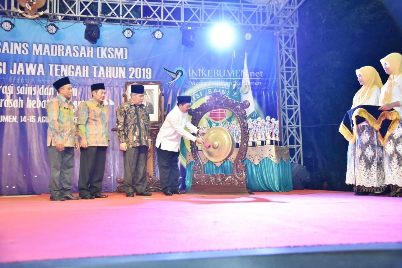 Kebumen jadi Tuan Rumah Kompetisi Sains Madrasah Tingkat Jawa Tengah