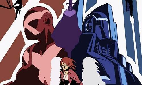 "Stan Lee And Hiroshi Nagahama's ""The Reflection"" Anime Series Gets New Key Visual."