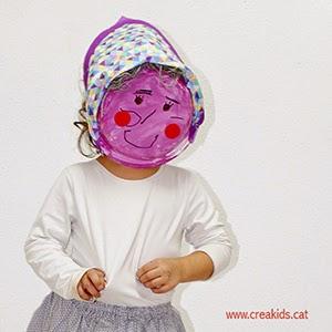 Fiesta: máscara castañera