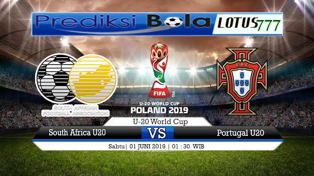 PREDIKSI South Africa U20 vs Portugal U20 01 JUNI 2019
