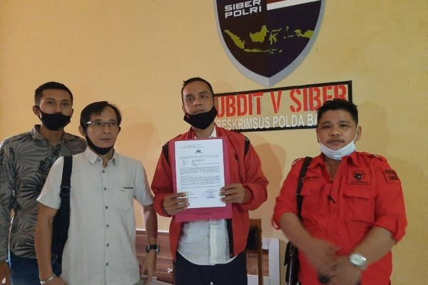 PDIP Banten Laporkan Pengunggah Video Pembakaran Bendera Partai