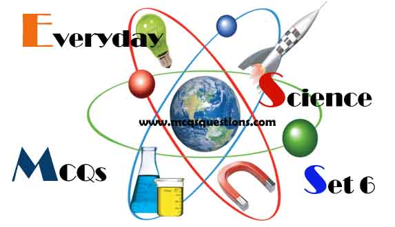 Everyday Science MCQs with Answers Set 6