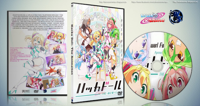 Hacka Doll: The Animation | 13/13 | Cover DVD | Mp4 HD | MEGA |