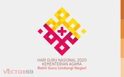 Hari Guru Nasional 2020 Kemenag Logo - Download Vector File AI (Adobe Illustrator)