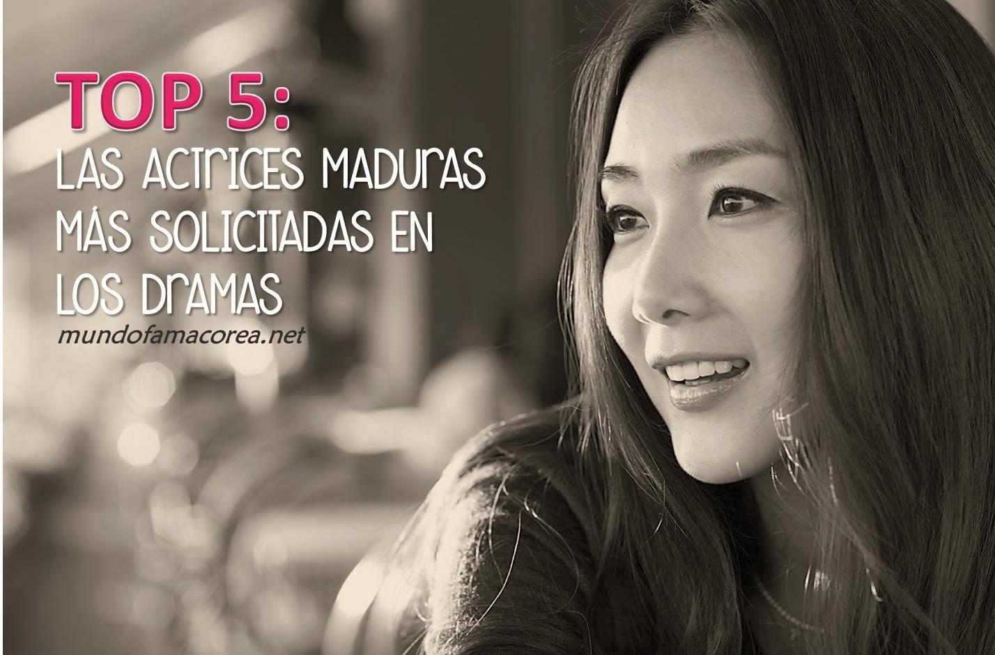 Actrices Coreanas top 5: las actrices maduras mÁs solicitadas en los dramas
