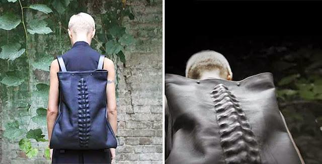 Mochila de columna vertebral