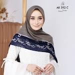 Hijab Persegi AR Rafi AR 392 C | Bahan Voal