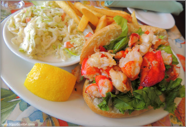 Lobster Roll en Gloucester, Massachusetts