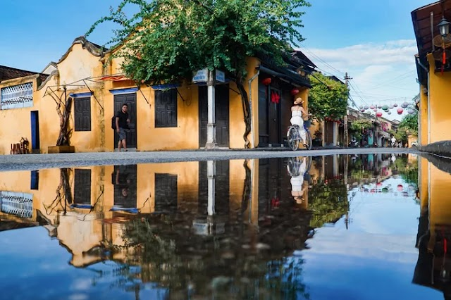Hoi An 'reflected' after the rain