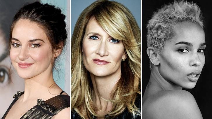 Big Little Lies - Season 2 - Shailene Woodley, Laura Dern & Zoë Kravitz Returning