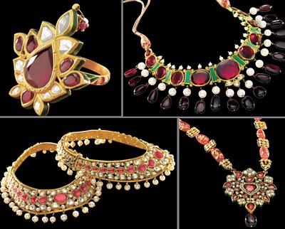 Tanishq Wedding Jewellery Gallery(antique,kundan,polki,diamond