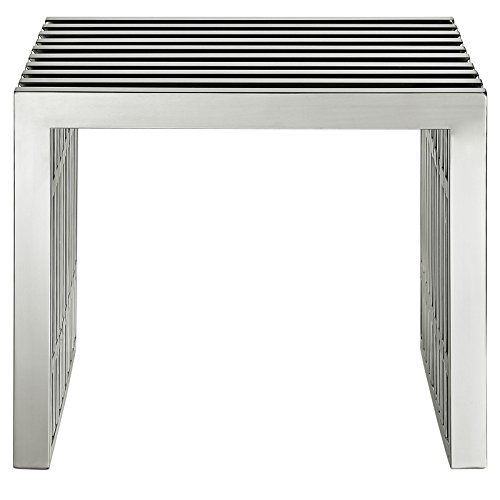 Small Gridiron Stainless Steel Bench