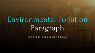 Short Paragraph on Environmental Pollution Updated in 2020 | EEB
