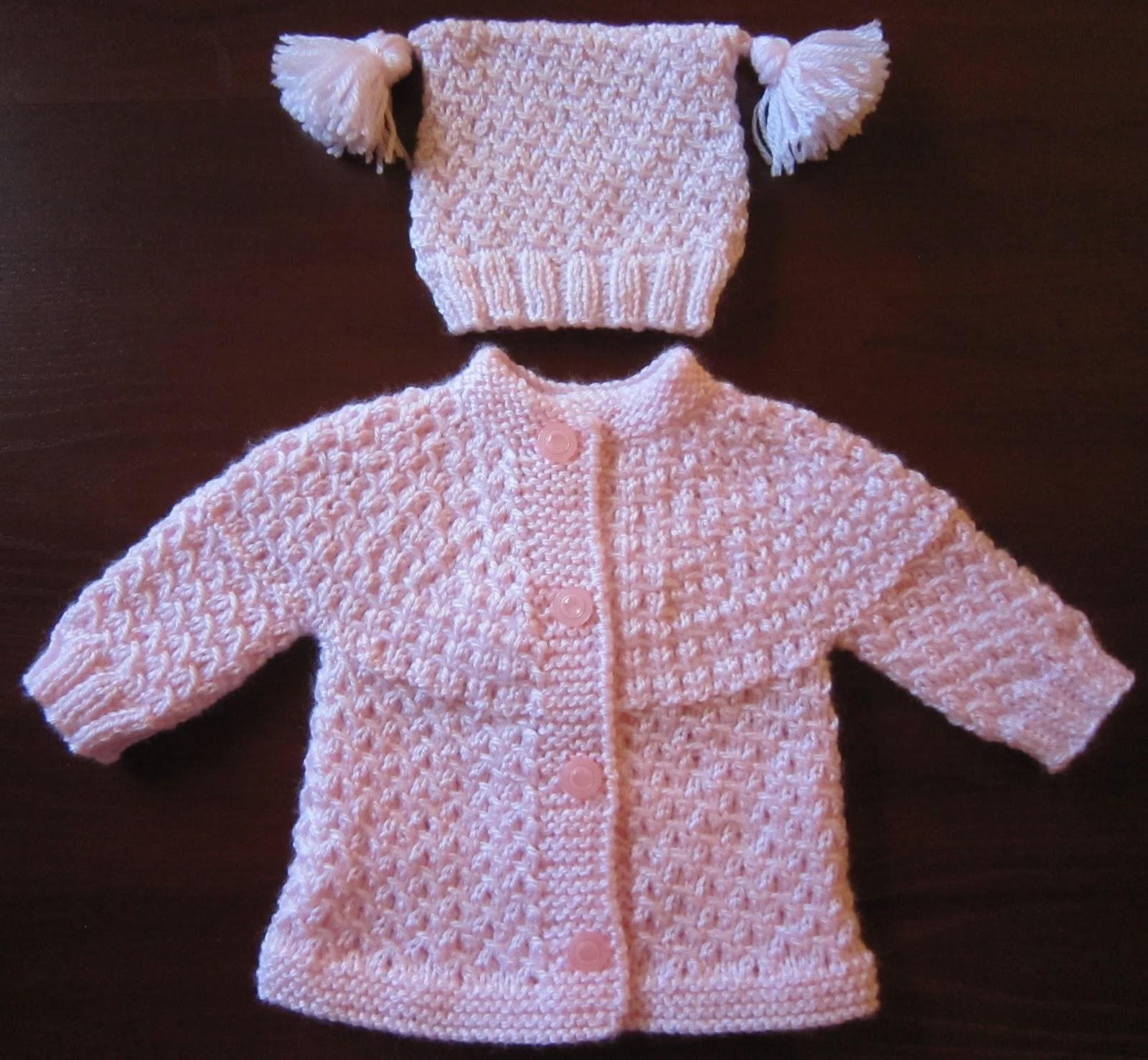 Sea Trail Grandmas Free Preemie Knit Sweater And Hat